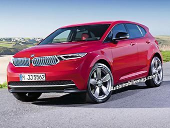 """BMW заполнит нишу между """"копейкой"""" и X1 новым кроссовером"""