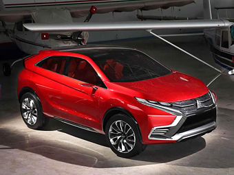 Mitsubishi привезет в Женеву новый экокроссовер