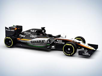 Force India последней из команд Формулы-1 показала новый болид
