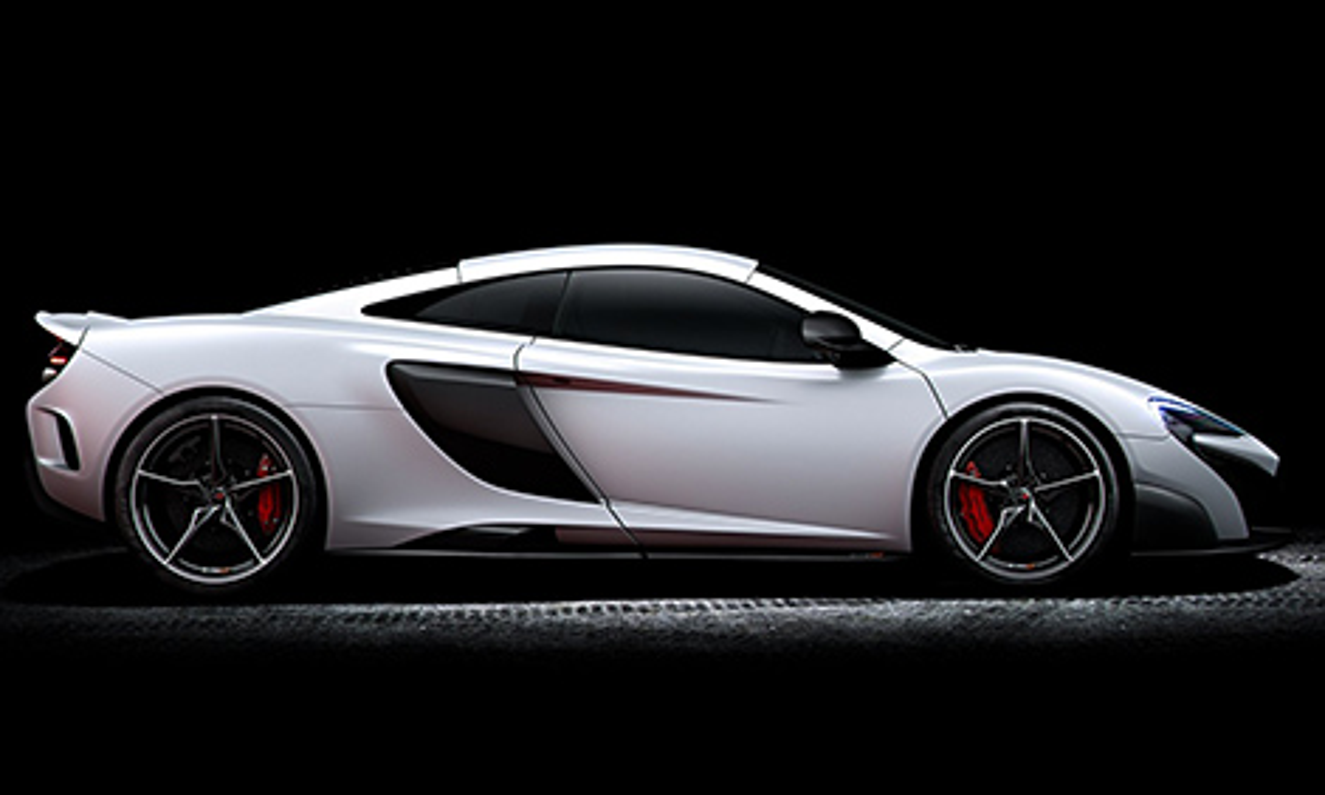 В Женеве дебютирует трековое купе McLaren 675LT