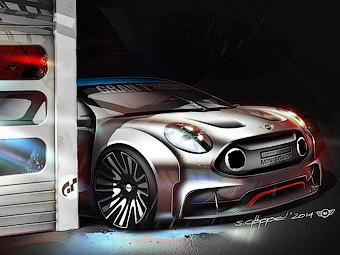 Компания MINI сделала агрессивный Clubman для игры Gran Turismo