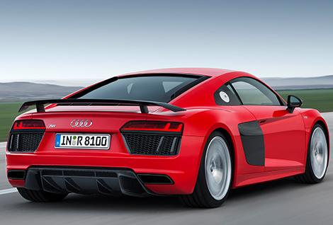 Компания Audi перестала скрывать R8 второго поколения