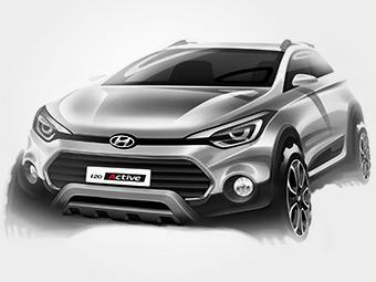 Хэтчбек Hyundai i20 превратят во вседорожник