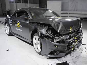 Audi TT осталась без высшего балла на краш-тесте Euro NCAP