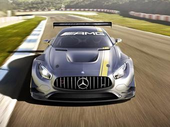 Опубликованы новые снимки гоночного суперкара Mercedes-AMG