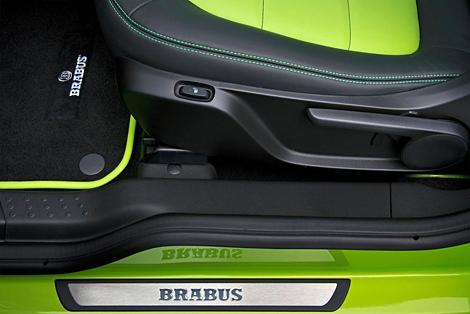 Версия компакт-кара от ателье Brabus дебютирует на Женевском автосалоне