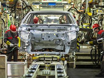 Toyota вдвое увеличит мощность завода в Петербурге