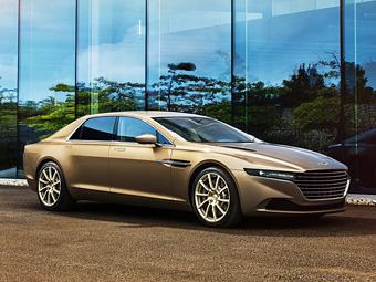 Aston Martin будет продавать в России седан для арабов