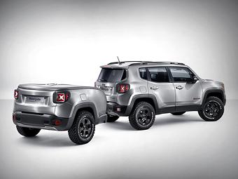 Jeep показал возможности персонализации маленького кроссовера