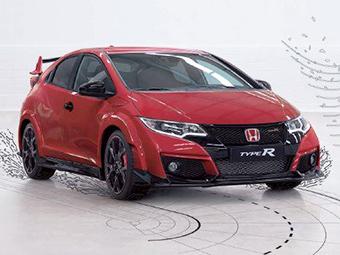Внешность Honda Civic Type R перестала быть секретом