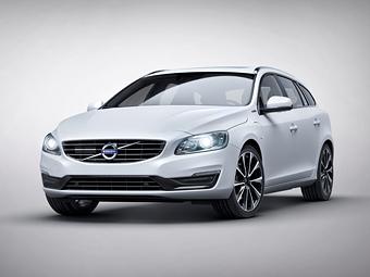 Volvo сделала особый гибрид V60 в честь нового мотора