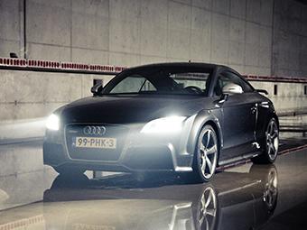 Audi создала самый большой в Европе тоннель для теста фар