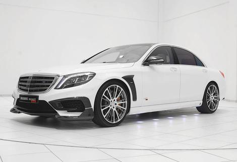 Тюнеры модифицировали седан Mercedes-Benz S 65 AMG. Фото 2