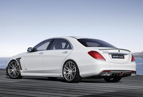 Тюнеры модифицировали седан Mercedes-Benz S 65 AMG. Фото 3