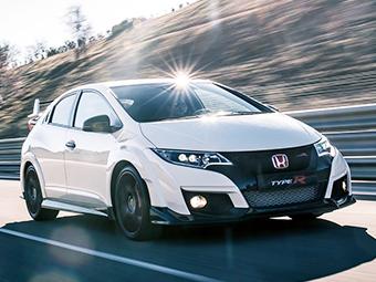 Honda представила 310-сильный Civic Type R