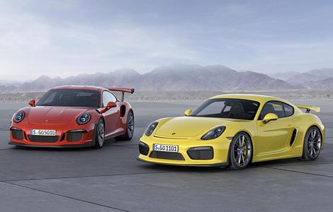 В Женеве дебютировала версия GT3 RS