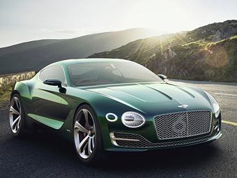 В Bentley намекнули концептом на двухместное спорткупе