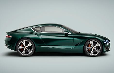 В Женеве дебютировал прототип роскошного спорткара Bentley EXP 10 Speed 6