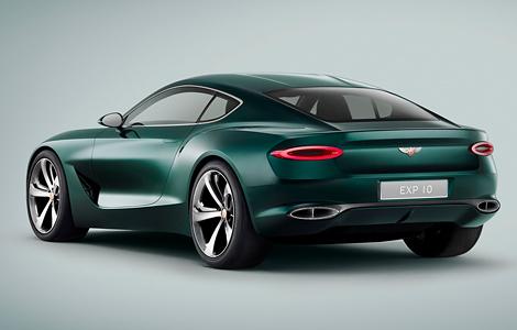 В Женеве дебютировал прототип роскошного спорткара Bentley EXP 10 Speed 6. Фото 1