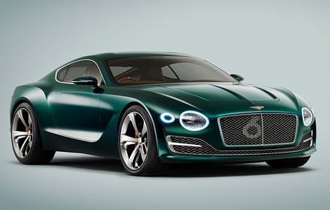 В Женеве дебютировал прототип роскошного спорткара Bentley EXP 10 Speed 6. Фото 2