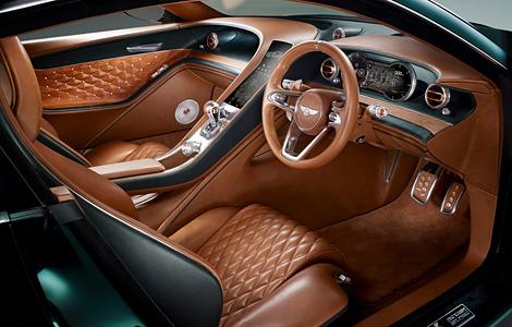 В Женеве дебютировал прототип роскошного спорткара Bentley EXP 10 Speed 6. Фото 3