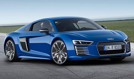Суперкар Audi R8 e-tron будут собирать под заказ
