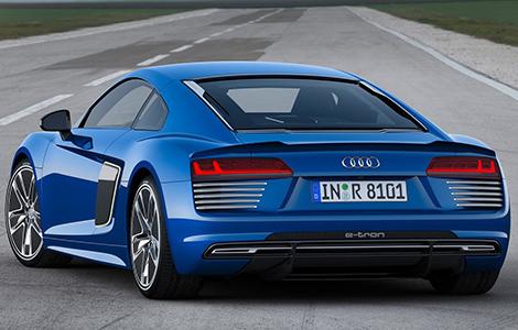 Суперкар Audi R8 e-tron будут собирать под заказ. Фото 1