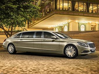 Новый Mercedes-Benz Pullman оценили в полмиллиона евро