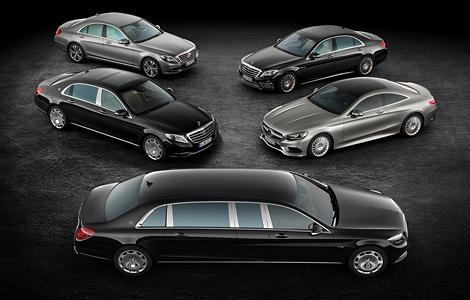 Немецкая марка привезла в Женеву самый дорогой S-Class