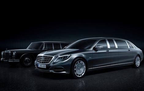 Немецкая марка привезла в Женеву самый дорогой S-Class. Фото 1