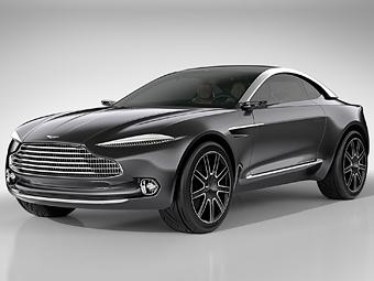 Aston Martin привез в Женеву концепт кроссовера