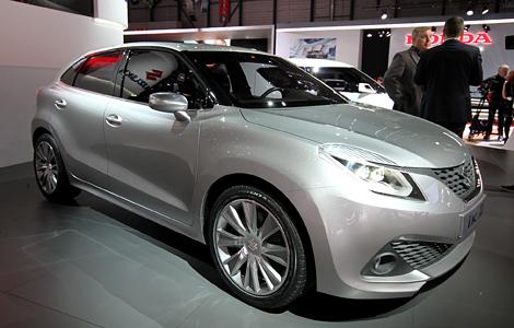 В Женеве дебютировал концепт-кар Suzuki iK-2 с новым турбомотором. Фото 1