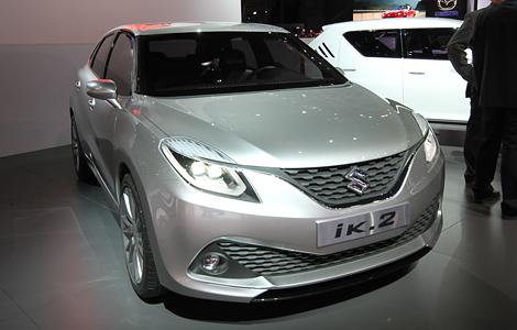 В Женеве дебютировал концепт-кар Suzuki iK-2 с новым турбомотором. Фото 2