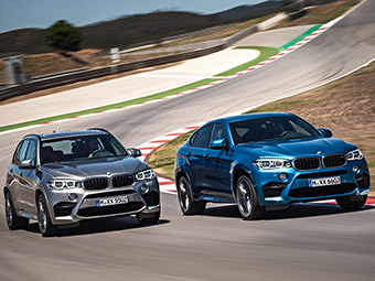 Названы рублевые цены на новые BMW X5 M и X6 M