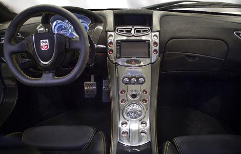 Компания GTA привезла в Женеву обновленное купе Spano. Фото 1