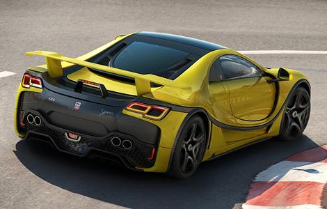 Компания GTA привезла в Женеву обновленное купе Spano. Фото 2