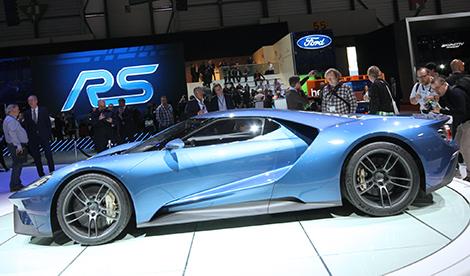 Первые экземпляры суперкара Ford доставят клиентам через полтора года. Фото 1