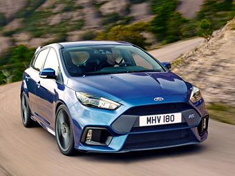 Новый Ford Focus RS получил «дрифт-кнопку»