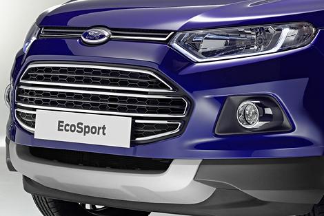 """Ford EcoSport остался без """"запаски"""" и получил более мощный дизель. Фото 2"""