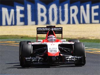 Экс-Marussia успела построить машину к первой гонке Формулы-1