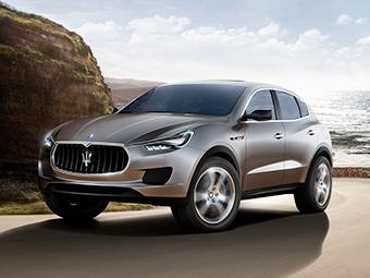 Первый внедорожник Maserati станет гибридом