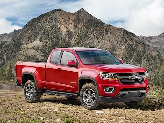Загадочный пикап Chevrolet оказался спецверсией Colorado