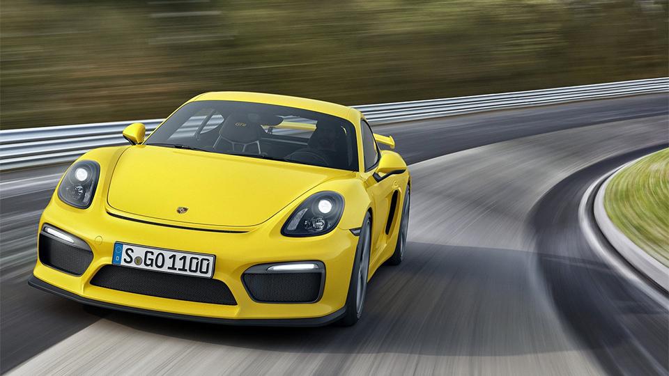 Porsche сделает самый мощный «Кайман» еще мощнее