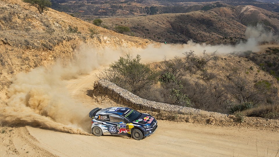 Ожье выиграл третий этап WRC подряд