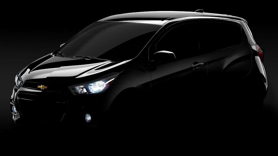 Компания Chevrolet приоткрыла дизайн нового Spark