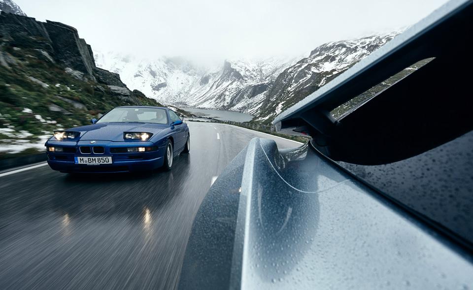 Супертест двух «восьмерок» BMW, как выбор между ностальгией о прошлом и мечтами о будущем. Фото 8
