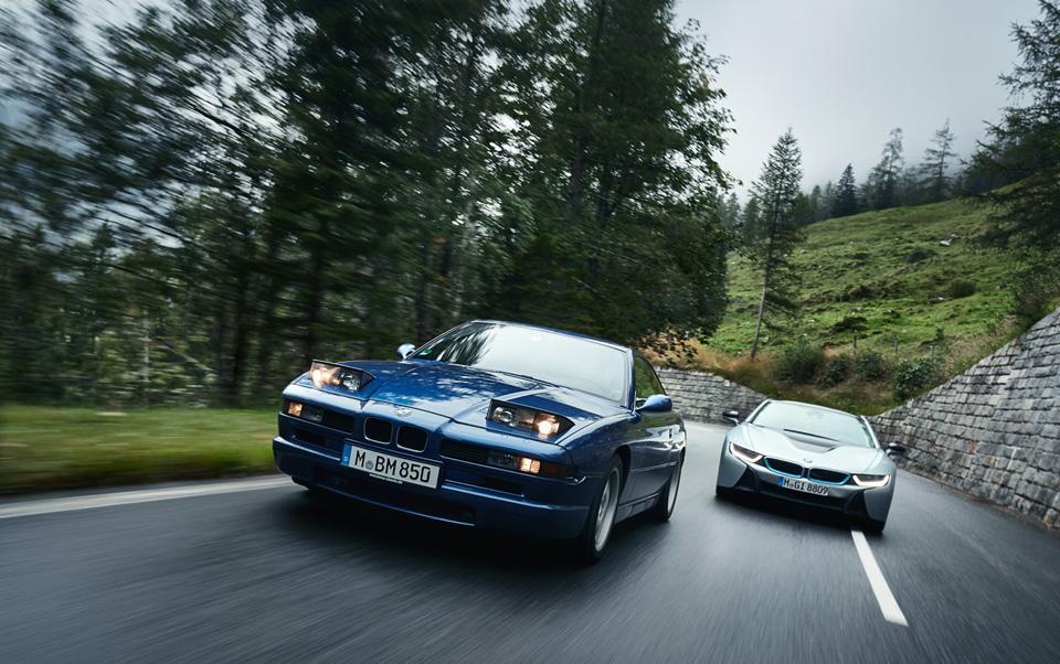 Супертест двух «восьмерок» BMW, как выбор между ностальгией о прошлом и мечтами о будущем. Фото 13