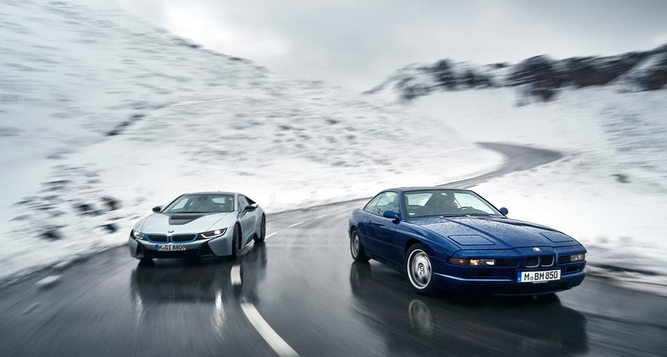 Супертест двух «восьмерок» BMW, как выбор между ностальгией о прошлом и мечтами о будущем. Фото 22