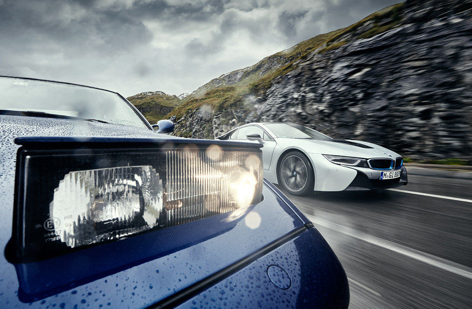 Супертест двух «восьмерок» BMW, как выбор между ностальгией о прошлом и мечтами о будущем. Фото 18