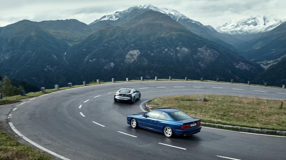 Супертест двух «восьмерок» BMW, как выбор между ностальгией о прошлом и мечтами о будущем. Фото 34